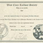 WCR Sleeper Certificate